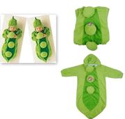 AAA Коралловые Velvet горох в форме хлопка зеленого спальный мешок Хэл