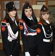 кадетская парадная камуфляжная повседневная форма для кадетов