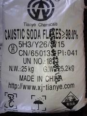 Натр едкий (сода каустическая) меш. 25 кг