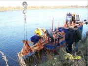 Оборудование добычи и промывки речного песка