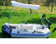 Тент-козырек на  лодку или катер  (Биминитоп)