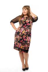 Модные трикотажные платья оптом от производителя. Все в наличии.