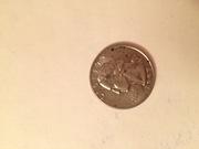 Монета Liberty 1997 Quarter dollar (монета-перевертыш)